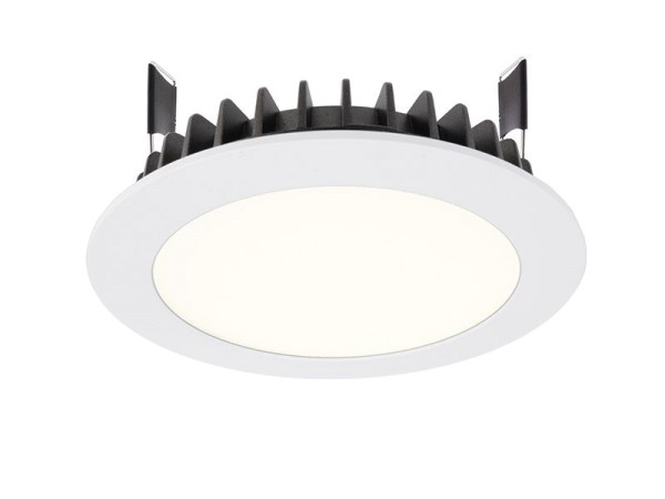 Deko-Light Deckeneinbauleuchte, LED Panel Round III 12, Aluminium Druckguss, weiß, Neutralweiß, 100°