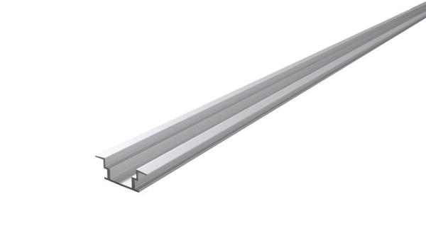Reprofil Profil, IP-Profil, T-flach ET-05-12, Aluminium, Silber-matt eloxiert, 3000mm