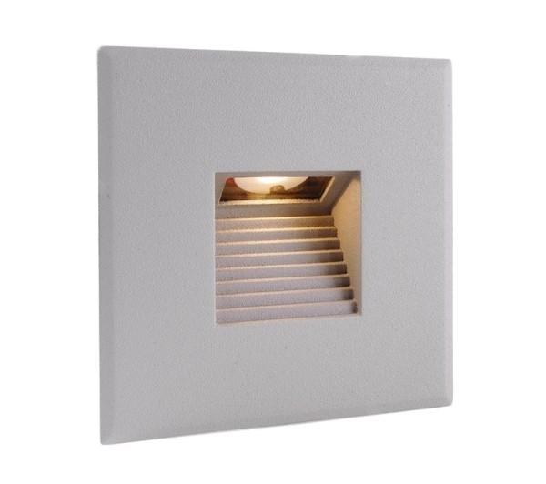 Deko-Light Zubehör, Abdeckung silber grau eckig für Light Base COB Indoor, Aluminium, Silber-grau