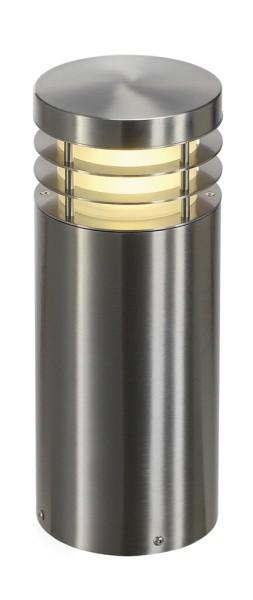 VAP 40, Outdoor Standleuchte, TC-HSE, IP44, rund, edelstahl 304, Ø/H 16/40 cm, max. 23W