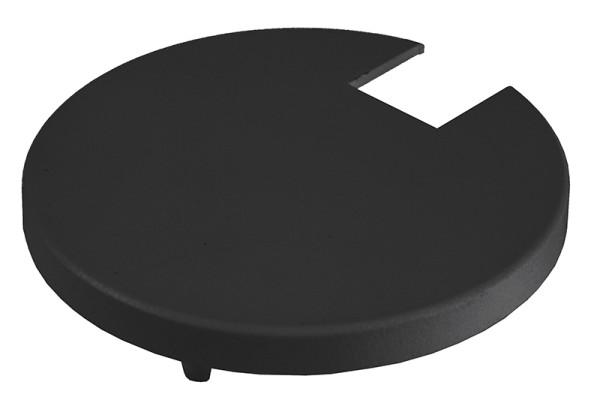 Deko-Light Zubehör, Abdeckung Kühlkörper Schwarz für Serie Uni II, Kunststoff, Schwarz