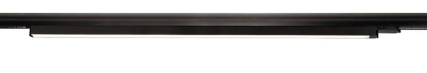 Deko-Light Schienensystem 3-Phasen 230V, Linear 100, Aluminium, schwarz mattiert, Neutralweiß, 110°