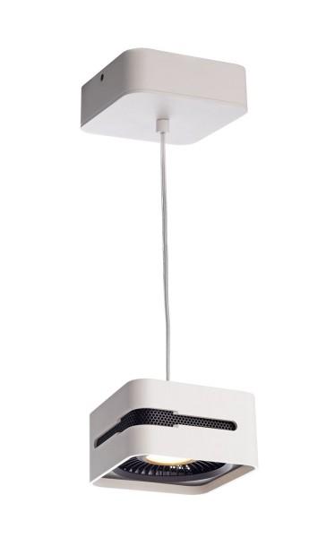 Deko-Light Pendelleuchte, Black & White IV, Aluminium Druckguss, weiß, Warmweiß, 40°, 26W, 230V