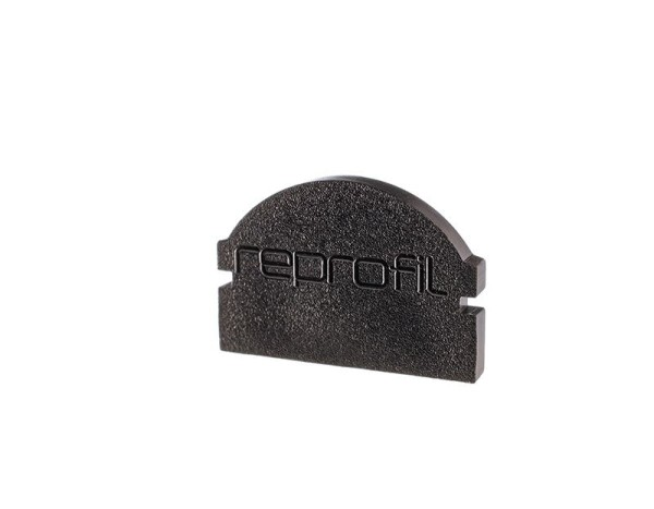 Reprofil Profil Zubehör, Endkappe L-AU-01-10 Set 2 Stk, Kunststoff, Schwarz, 16x6mm