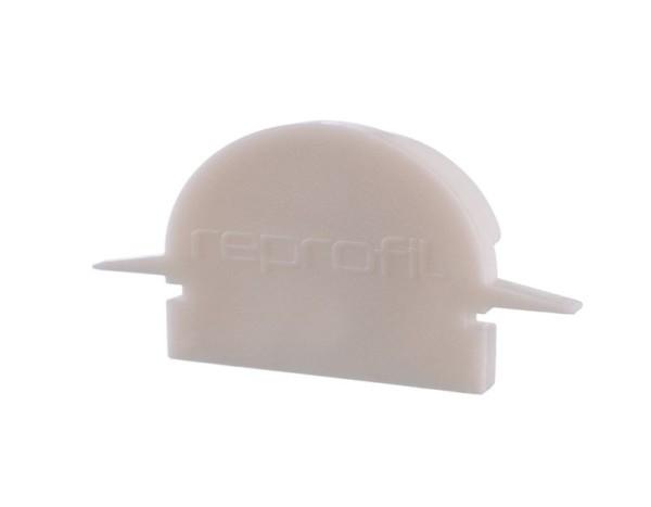 Reprofil Profil Zubehör, Endkappe R-ET-01-15 Set 2 Stk, Kunststoff, Weiß, 30x6mm