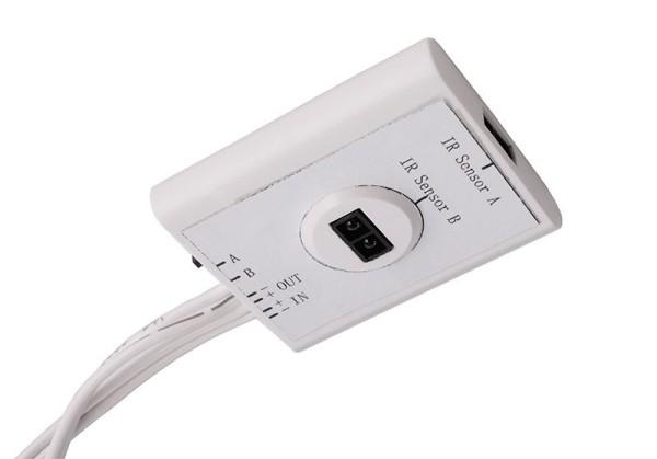 Deko-Light Zubehör, IR Sensor Mia, weiß, Kunststoff, Weiß, 24V, 45x38mm