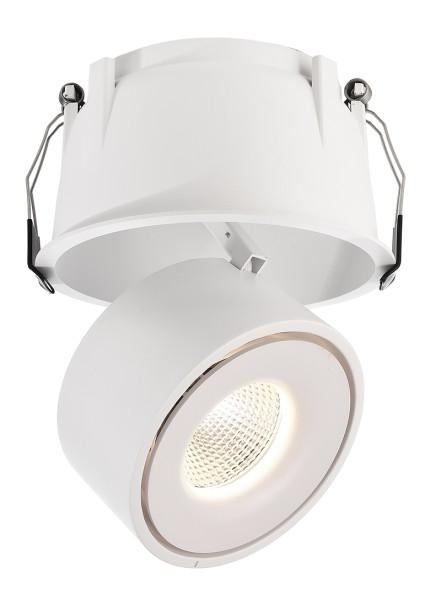 Deko-Light Deckeneinbauleuchte, Uni II Max, Aluminium Druckguss, weiß, Warmweiß, 33°, 24W, 34-35V