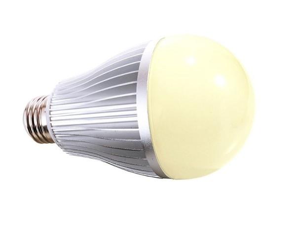 Deko-Light Leuchtmittel, LED E27 RF White, Aluminium Druckguss, Silber-matt, Warmweiß + Kaltweiß, 6W