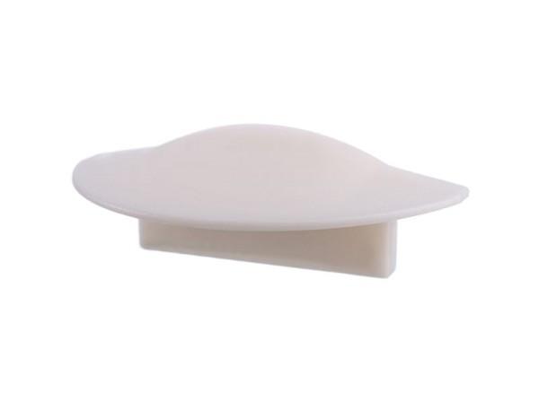 Reprofil Profil Zubehör, Endkappe F-ET-01-12 Set 2 Stk, Kunststoff, Weiß, 27x16mm