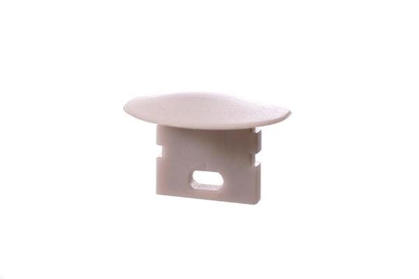 Reprofil Profil Zubehör, Endkappe F-ET-02-05 Set 2 Stk, Kunststoff, Weiß