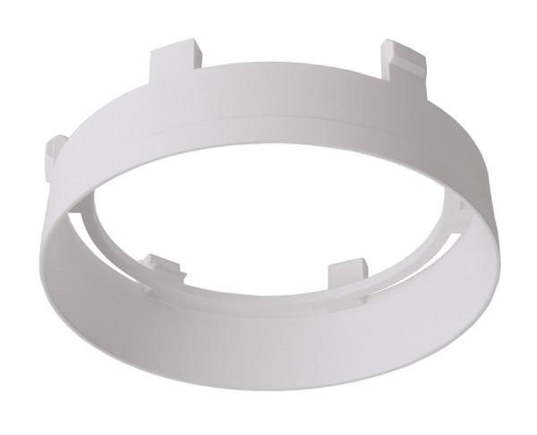 Deko-Light Zubehör, Reflektor Ring Weiß für Serie Nihal, Kunststoff, Weiß