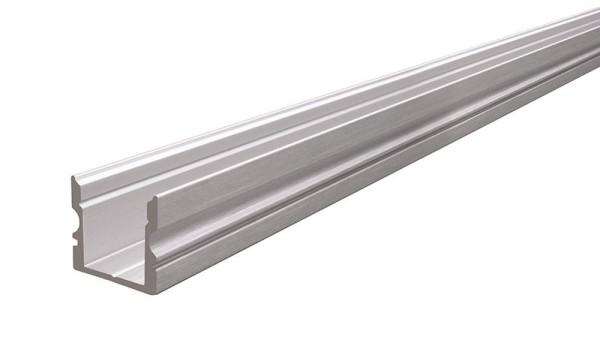 Reprofil Profil, U-Profil hoch AU-02-10, Aluminium, Silber gebürstet, 1000mm