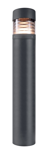 Deko-Light Stehleuchte, Ortis, Aluminium Druckguss, dunkelgrau, Warmweiß, 360°, 15W, 230V, 1000mm