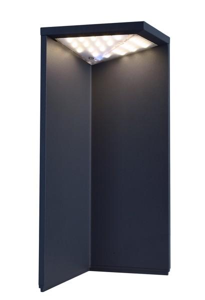 Deko-Light Stehleuchte, Lugh Solar, Aluminium Druckguss, dunkelgrau, Warmweiß, 74°, 2W, 3V
