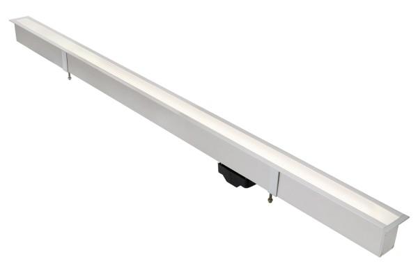 T5-BAR, Einbauleuchte, rechteckig, aluminium eloxiert, max. 54W