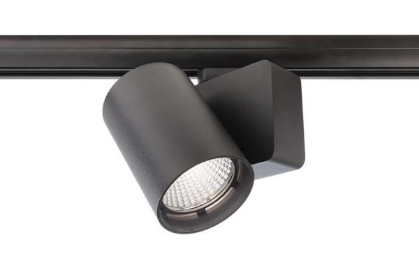 Deko-Light Schienensystem 3-Phasen 230V, Nihal, Aluminium Druckguss, schwarz, Neutralweiß, 33°, 30W