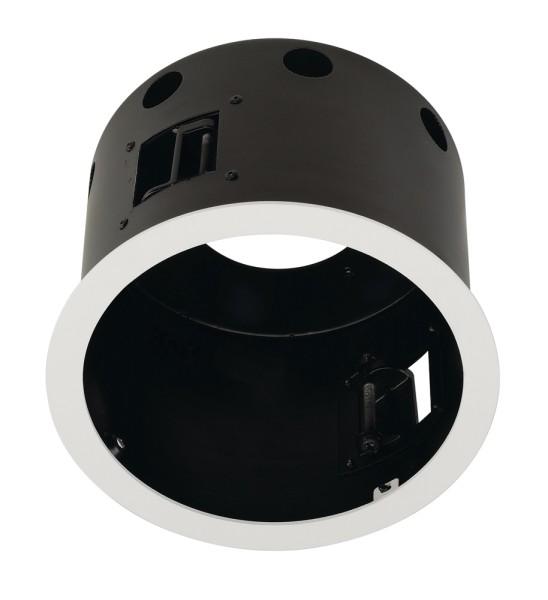 EINBAURAHMEN 1 FRAME, für AIXLIGHT PRO, rund, weiß matt, Ø/H 17,5/12,5 cm