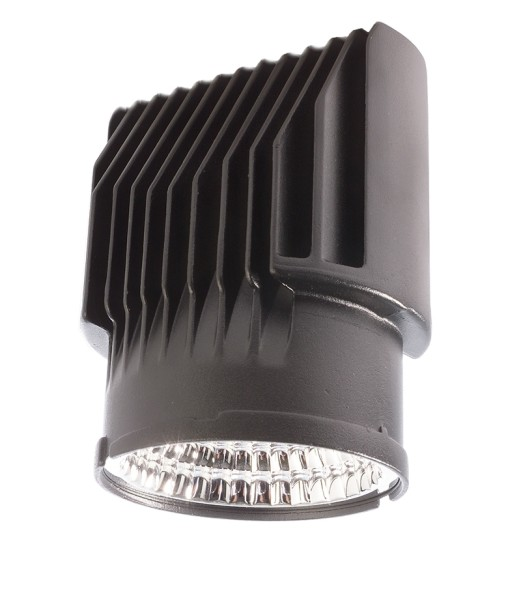 Deko-Light Deckeneinbauleuchte, Modular System COB 26/33W, Aluminium Druckguss, Schwarz, Warmweiß