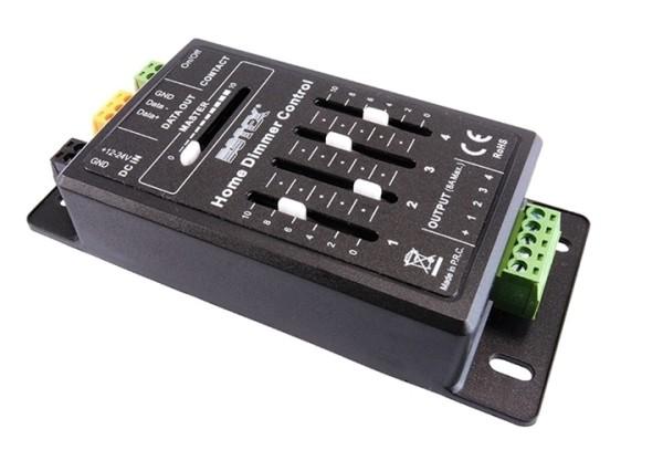 Botex Controller, Home Dimmer, spannungskonstant, dimmbar: DMX512, 12-24V DC, 192,00 W