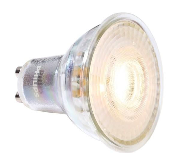Phillips Leuchtmittel, MASTER VALUE DT LEDspot GU10 927, Glas, Silber, Warmweiß, 36°, 3W, 230V, 20mA
