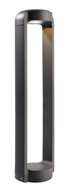 Deko-Light Stehleuchte, Antliae 80, Aluminium Druckguss, dunkelgrau, Warmweiß, 12W, 230V, 152x121mm