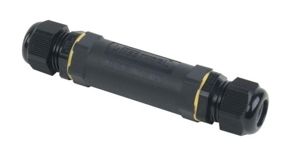 Deko-Light Kabelsystem, Outdoor Kabelverbinder 5x1,5mm², PA66GF UL90, Schwarz, 130mm