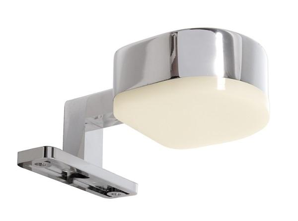 Deko-Light Möbelaufbauleuchte, Gienah, Aluminium, silberfarben Chrom, Warmweiß, 180°, 3W, 9V, 350mA
