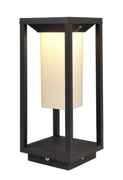 Deko-Light Stehleuchte, Samas Solar 340, Aluminium Druckguss, dunkelgrau, Warmweiß, 98°, 2W, 3V