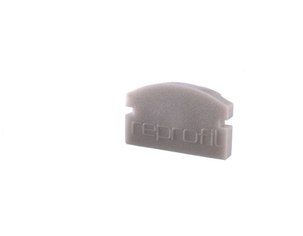 Reprofil Profil Zubehör, Endkappe F-AU-01-08 Set 2 Stk, Kunststoff, Grau, 14x6mm