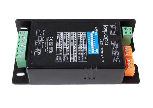 Deko-Light Controller, LED Dimmer 3, Kunststoff, Schwarz, 288W, 12-24V, 115x57mm