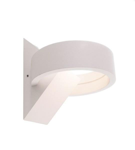 Deko-Light Wandaufbauleuchte, Gracie, Aluminium, weiß, Warmweiß, 90°/90°, 7W, 230V, 57mm