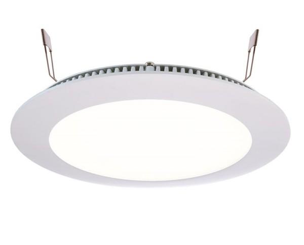 Deko-Light Deckeneinbauleuchte, LED Panel 12, Aluminium Druckguss, weiß, Neutralweiß, 115°, 9W