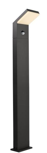 Deko-Light Stehleuchte, Tucanae Motion, Aluminium Druckguss, dunkelgrau, Warmweiß, 110°, 16W, 230V