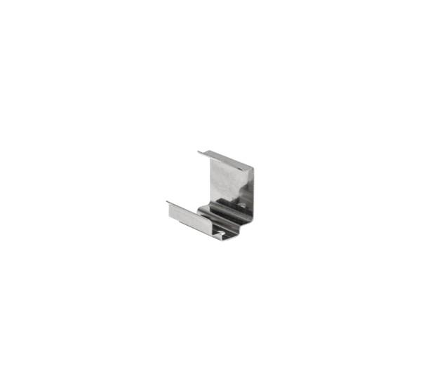 MONTAGEFEDER, für GLENOS Eck-Profil 2720, edelstahl, 2 Stück