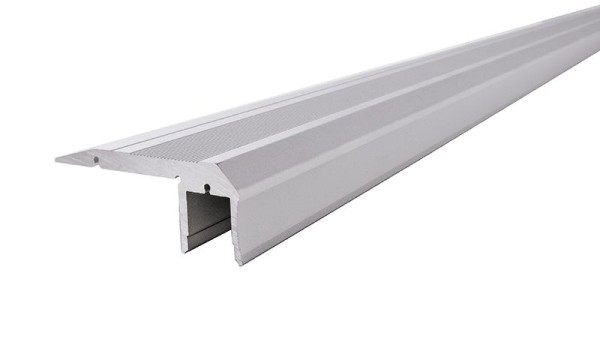Reprofil, Treppenstufen-Profil AL-02-10 für LED Stripes bis 11,3 mm, Silber-matt, eloxiert, 1000 mm
