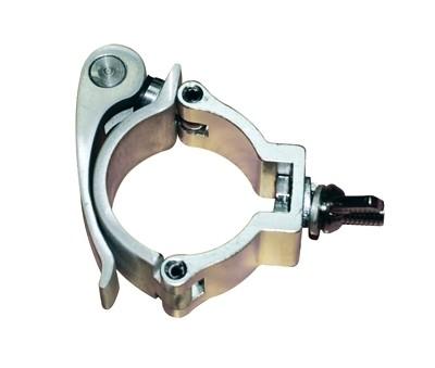 Global Truss, Trussaufnehmer klein mit Schnellverschluss, Aluminium, Silber, Länge: 90 mm