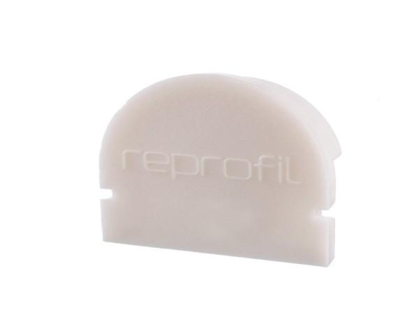 Reprofil Profil Zubehör, Endkappe R-AU-01-15 Set 2 Stk, Kunststoff, Weiß, 21x6mm