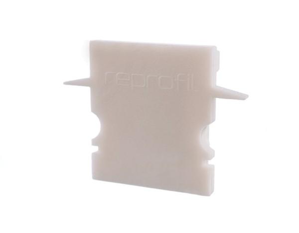 Reprofil Profil Zubehör, Endkappe H-ET-02-12 Set 2 Stk, Kunststoff, Weiß, 27x6mm