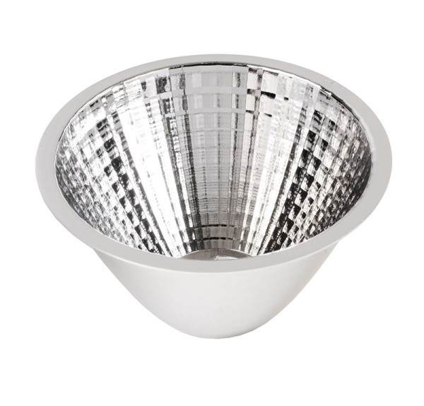 Deko-Light Zubehör, 20° Reflektor Luna 20/30, Kunststoff, Silber Chrom, 20°