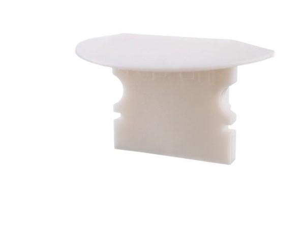 Reprofil Profil Zubehör, Endkappe P-ET-02-10 Set 2 Stk, Kunststoff, Weiß, 25x16mm