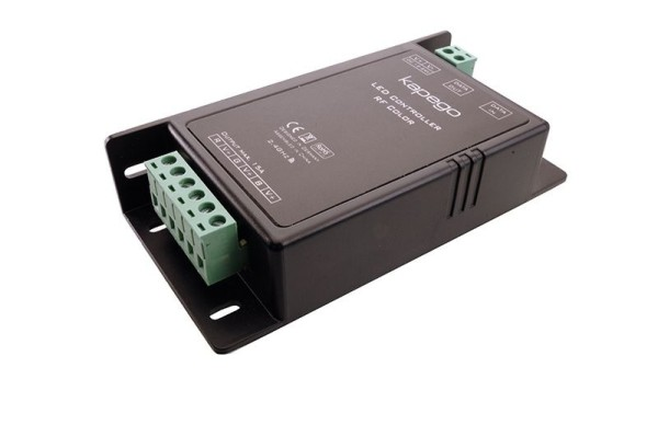 Deko-Light Controller, RF Color, Kunststoff, Schwarz, 12-24V, 115x57mm