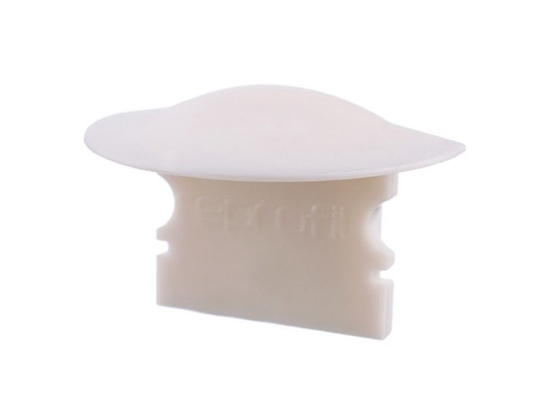 Reprofil Profil Zubehör, Endkappe F-ET-02-12 Set 2 Stk, Kunststoff, Weiß, 27x16mm