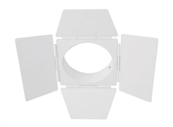Deko-Light Zubehör, Torblende weiß, Luna 20/30, Metall, Weiß, 230mm