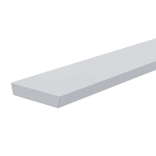Reprofil, Abdeckung I-03-15, Kunststoff, milchig 40% Transmission, Länge: 2000 mm