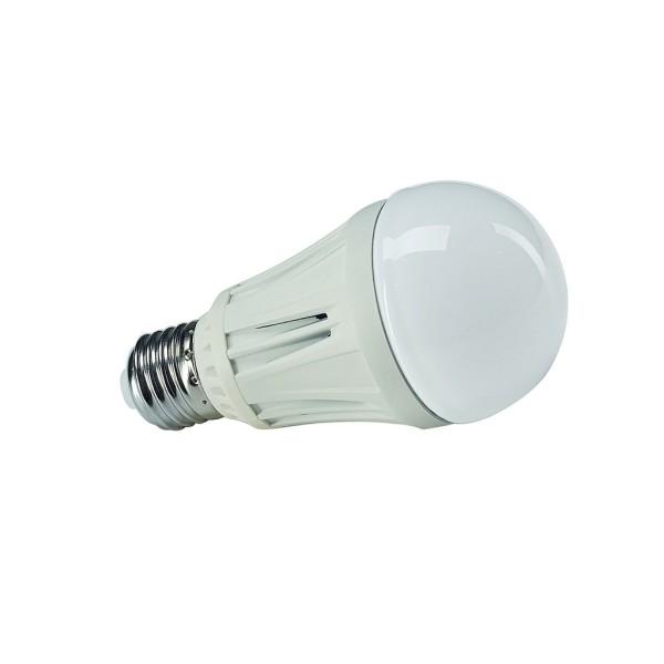 E27 6W LED Leuchtmittel, SMD LED, 3000K, birnenförmig