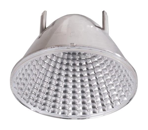 Deko-Light Zubehör, Reflektor 50° für Serie Nihal, Kunststoff, Silber, 50°