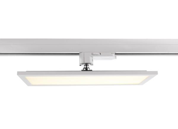 Deko-Light Schienensystem 3-Phasen 230V, Panel Track Light, Aluminium, weiß mattiert, Warmweiß, 115°