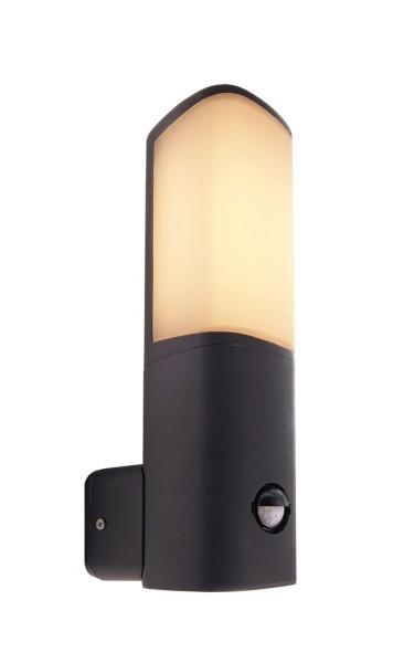 Deko-Light Wandaufbauleuchte, Beacon Motion, Aluminium Druckguss, anthrazit, Warmweiß, 120°, 6W