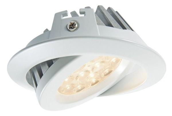 KapegoLED Deckeneinbauleuchte, TD36-15, inklusive Leuchtmittel, Weiß, Warmweiß, Abstrahlwinkel: 70°