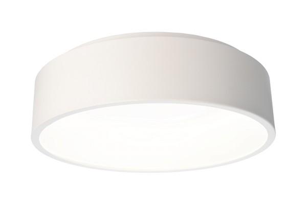 Deko-Light Deckenaufbauleuchte, Sculptoris 45, Aluminium, weiß matt, Neutralweiß, 150°, 26W, 230V